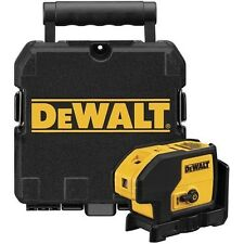 DEWALT DW083K Self Leveling 3-Beam Cot Plumb & Level Laser Pointer w/Case *NEW*