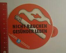 Aufkleber/Sticker: nicht rauchen gesünder Leben TKK (111016178)
