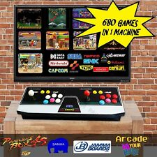 SEGA ASTRO CITY, Pandora box 4S 680 in 1, Arcade Game Machine, Console, FREE DHL