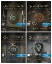 Game of Thrones Season 1-4 Steelbook Collection (Blu-ray) BRAND NEW!! 1 2 3 4