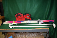 "Olin 700L Advantage Series P-Tax Electra 60"" Skis & Poles, Tyrolia 470 Bindings"