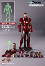 HOT TOYS 1/6 MARVEL AVENGERS MMS185 IRON MAN MK7 MARK VII SPECIAL EDITION UK
