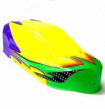 BS905-007 1/10 Scala Nitro RC Buggy Carrozzeria Cover Giallo Dipinto Stretta