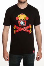 "Johnny Cupcakes ""Metal Crossbones"" Marvel Iron Man Retired T-Shirt *NEW IN BAG*"