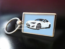TOYOTA GT86 METAL KEY RING. CHOOSE YOUR CAR COLOUR.