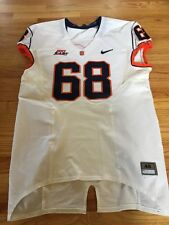 GAME USED NUMBER 68 SYRACUSE White FOOTBALL JERSEY NICE USE