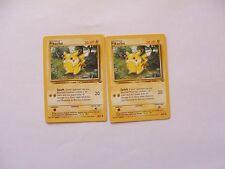 POKEMON Jungle Set Pikachu 60/64 x2