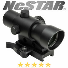 NcSTAR Mark III Tactical Red Dot LED 3 MOA Optic QR Weaver Picatinny Mount Cover