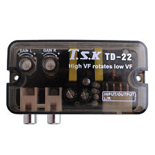 RCA Stereo High to Low Frequency Line Audio Speaker Converter Adapter For Car