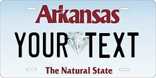Arkansas 2006 License Plate Personalized Auto Car Custom VEHICLE OR MOPED