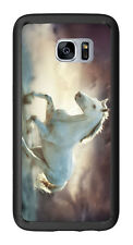White Horse Running Wild For Samsung Galaxy S7 Edge G935 Case Cover by Atomic Ma