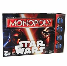 NEW Monopoly Board Game Star Wars Episode VII 7 The Force Awakens Legacy tokens