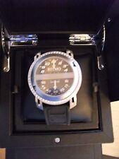 Ritmo Mundo Men's D201/4 SS Diamond Persepolis Triple-Time Orbital Quartz Watch