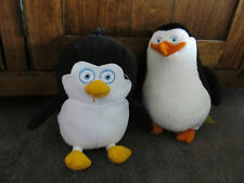 PENGUINS of MADAGASCAR..penguins..cute pair of soft toy penguins, Skipper & baby