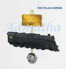 2010 Hallmark POLAR EXPRESS Train & Bell Ornament ROUND TRIP TICKET