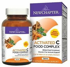 New Chapter - Activated C Food Complex / Dietary Supplement-180 Ta Exp 3-2017