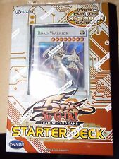 YuGioh 2009 5D's English Starter Deck  w/ Road Warrior New Sealed