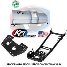 """KFI 60"""" Snow Plow Kit Blade/Push Tube/Mount Yamaha 105265 105635 105060"""