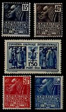 EXPO COLONIALE 1931, Neufs ** = Cote 145 € / Lot Timbres France 270 à 274