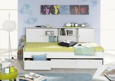 schubladenbett aus mdf spanplatte holzoptik f r kinder. Black Bedroom Furniture Sets. Home Design Ideas