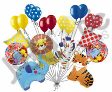 20 pc Circus Animals Balloon Bouquet Happy Birthday Decoration Carnival Elephant