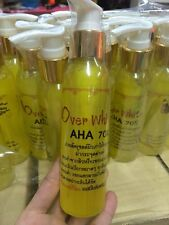 AHA 70  Dark Skin Whitening cream lotion  Lightening Bleaching Bleached 4 oz.