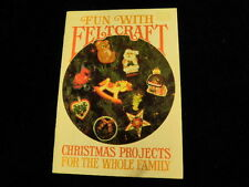 Vtg Crafts From Current Lot 3pc Feltcraft Your Kitchen Gifts Bazaar Ideas  R90