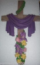 LOVELY RESIN CROWN OF THORNS CROSS TO HANG