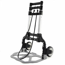 70 KG ALUMINIUM SACK TRUCK FOLDING HAND CART WHEEL TROLLEY HEAVY DUTY INDUSTRIAL