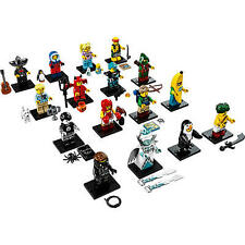 LEGO 71013 CMF Minifigures Series 16 Complete Set of 16 MISP