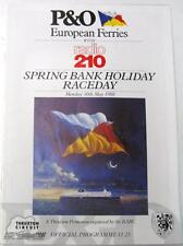 THRUXTON BARC Radio 210 30th May 1988 Motor Racing Official Programme