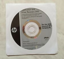 HP Windows 7 Application and Driver Recovery DVD ProBook 640 650 G1