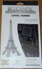 Eiffel Tower Iconx 3D Metal Model Kit Fascinations Steel Sheet to Museum quality