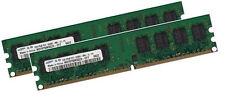 2x 1gb 2gb Samsung RAM memoria PC 533 MHz ddr2 pc2-4200u pc2-5300u 240 pin DIMM
