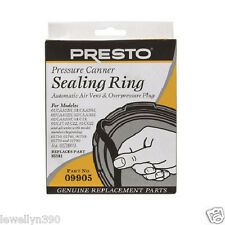 Presto Pressure Cooker Sealing Ring #9905 Auto Air vent & Overpressure plug NEW!