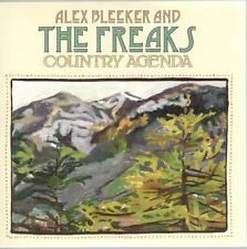 Alex Bleeker And The Freaks, Country Agenda; 12 track PR-ADV CD