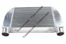 "CXRacing Universal V-Mount Turbo Intercooler 25""x12""x4"" 1-Side Bar & Plate"