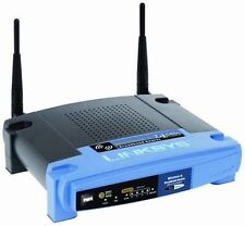 Linksys WRT54GL 54 Mbps 4-Port 10/100 Wireless G Router