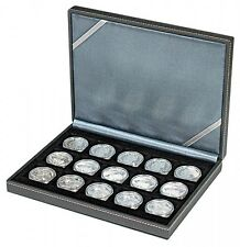 Lindner 2363-15 NERA Coin case XM with 15 rectangular compartments for coins