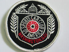Washington DC Sports Car Club Of America Patch (#4624)*
