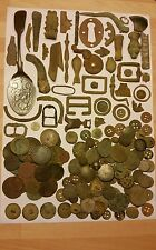 Unresearched Metal Detecting Finds. Medieval/Post Medieval Artefacts and Coins.