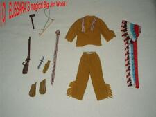 Big Jim-Karl May atuendo: Chinganchguk! mattel-Western! Indian Chief-amarillo