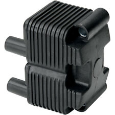 Black Single Fire Ignition Coil 0.5 ohm on 1999-06 Harley Twin Cam OEM# 31655-99