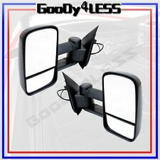 97-03 Ford F150 Light Duty Pickup Towing POWER Telescoping Mirrors Pair EXT