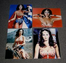 SET OF FOUR WONDER WOMAN 10 x 8 PHOTO'S,BARGAIN LOT,SET.FREE POSTAGE! 19