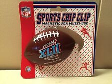 NEW Sports CHIP CLIP  or NOTE HOLDER w/magnet  *SUPER BOWL XLII * Arizona '08