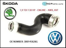 VW PASSAT B5 SUPERB 1,9 TDI 130HP AWX AVF TURBO INTERCOOLER PIPE HOSE 3B0145828G