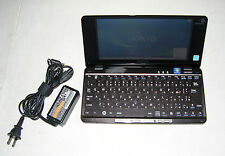 Sony Vaio VGN P92LS P Series Lifestyle UMPC Intel Z550 2.00GHz 60GB HDD 2GB RAM