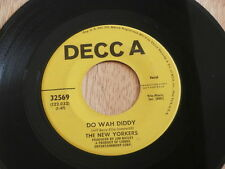 NEW YORKERS ~ DO WAH DIDDY / I GUESS THE LORD MUST BE IN NEW YORK CITY ~ POP 45