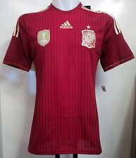 SPAIN 2014 ADIZERO HOME SHIRT BY ADIDAS SIZE  SMALL BRAND NEW WITH TAGS